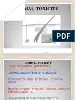 Dermatological Toxicity