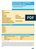 Sncb Convention Tiers Payant Railease