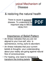 3. Meta-Physical Mechanism of Disease& Healing 24 Slides