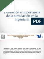 Importancia de La Simulacion en La Isc