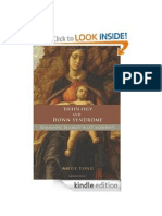 Book Review -Theology and Down Syndrome