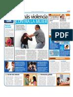 Alto a la violencia contra la mujer