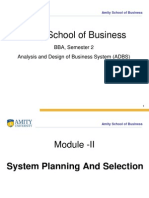 9a9edModule -II (System Planning and Selection)
