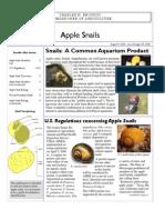 Apple Snails 2
