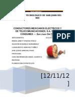 Trabajo Completo Condumex.f.i.f.e.