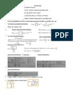 QT Formulae