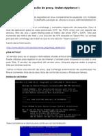 Configuracion de Proxy en Endian