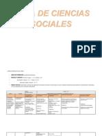 PLAN DE ESTUDIOS DEL ÁREA DE CIENCIAS SOCIALES