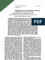 Seminario 21 y 22 de Nov - Nitrogen Redox Metabolism of Alcaligenes