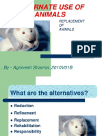 Alt. Use of Animals