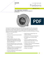Especificacion de Productos (Transmiores de Temperatura)