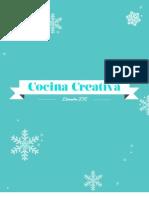 Menús Cocina Creativa  Navidad 2012