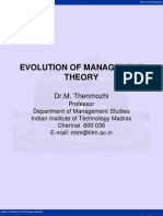 1b Evolution Mgt Theory
