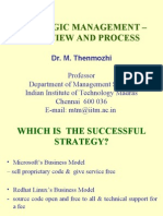 1-Strategic Management Overview