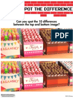 Wreck It Ralph Spot the Differences