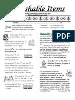 December Newsletter 2012