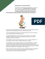 ALIMENTACIÓN DESEQUILIBRADA Y SEDENTARISMO