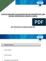 Plano de Ação da NET para televisão por assinatura