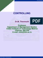 Module 8 Control Lecture Notes