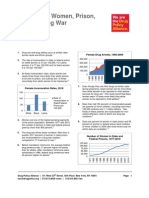 FactSheet_Women Prison and Drug War (September 2012 Update)