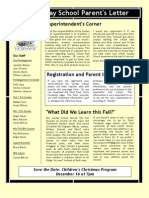 Newsletter for Dec 2012
