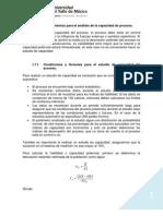 Segunda Parte Tema 5 Análisis de la Capacidad del Proceso