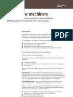 Buying New Machinery
