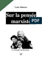 ALTHUSSER, 'Sur la pensée marxiste'