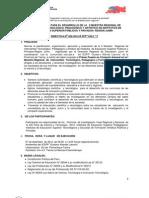 Directiva II Muestra Regional 2012