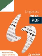 HE Linguistics 2010