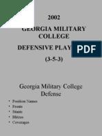 GMC 3-5-3 Defense 1