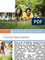 #1 - Course Introduction
