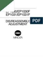 Service manual Minolta EP1030