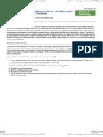 New Diagnostic Criteria for Alzheimer's Disease (Printer