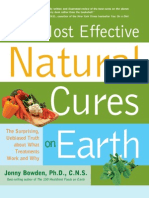 Most Effective Natural Cures on Earth - Jonny Bowden