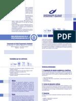 (2) Brochure Corporación de Salud Ocupacional y Ambiental (2012)