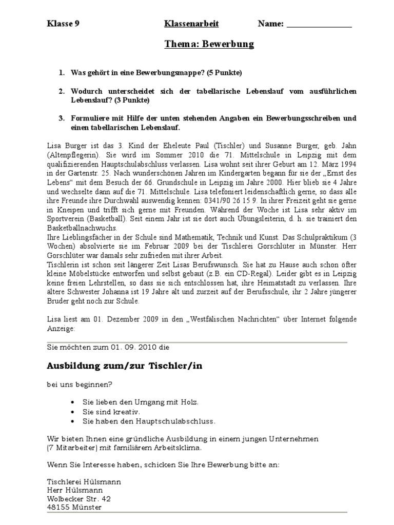 Wunderbar Adjektiv Für Lebenslauf Schreiben Galerie - Ideen ...