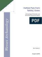Hatfield Park Farm, Takeley, Essex