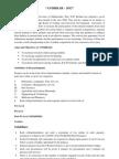 Guidelines for Avishkar-2012