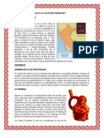 Donde Se Desarrollo La Cultura Paracas