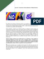 Entrevista a Patricio BañadosPlebiscito 88