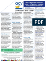 Pharmacy Daily for Fri 30 Nov 2012 - ANZTPA update, Victorian POTY, Sodium ruling, Grapefruit interactions and much more...