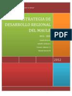 Informe Estrategia Regional Maule