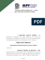 1.18.000.000716-2011-88 - Inicial Acp - Cfm e Cremego - Acesso