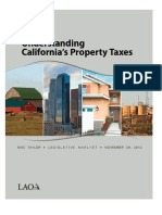 California Legislative Analyst's Office Report