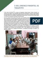 EX ALUMNOS DEL JIMENEZ PIMENTEL SE REUNEN EN TARAPOTO