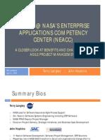 2009 Scrum at NASA