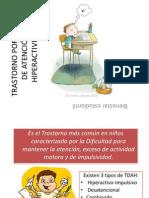 TRASTORNO POR DEFICIT DE ATENCIÓN E HIPERACTIVIDAD
