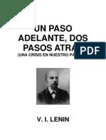 Lenin - 1 Paso Adelante 2 Atras