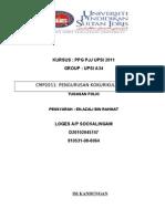 CMP2011 Tugasan Folio A34 D045747